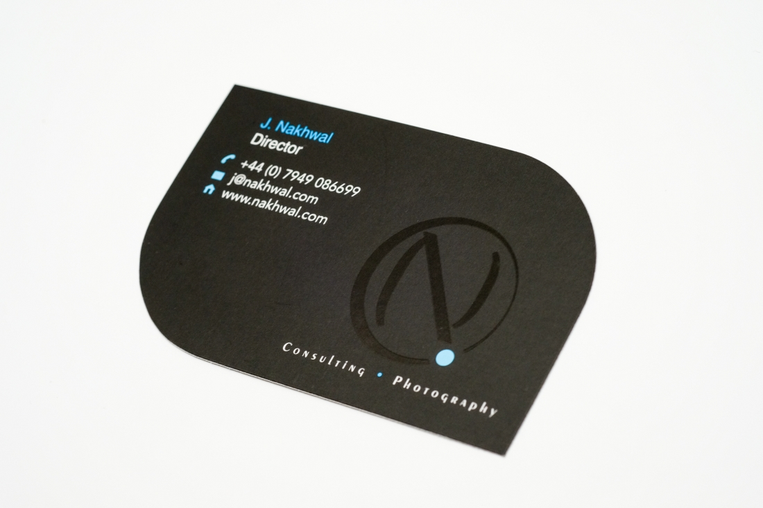 Business Cards Die Cut