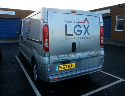 Vehicle Branding-LGX
