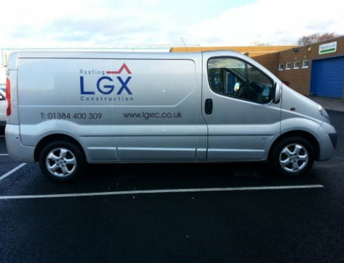 Vehicle Branding-LGX side view