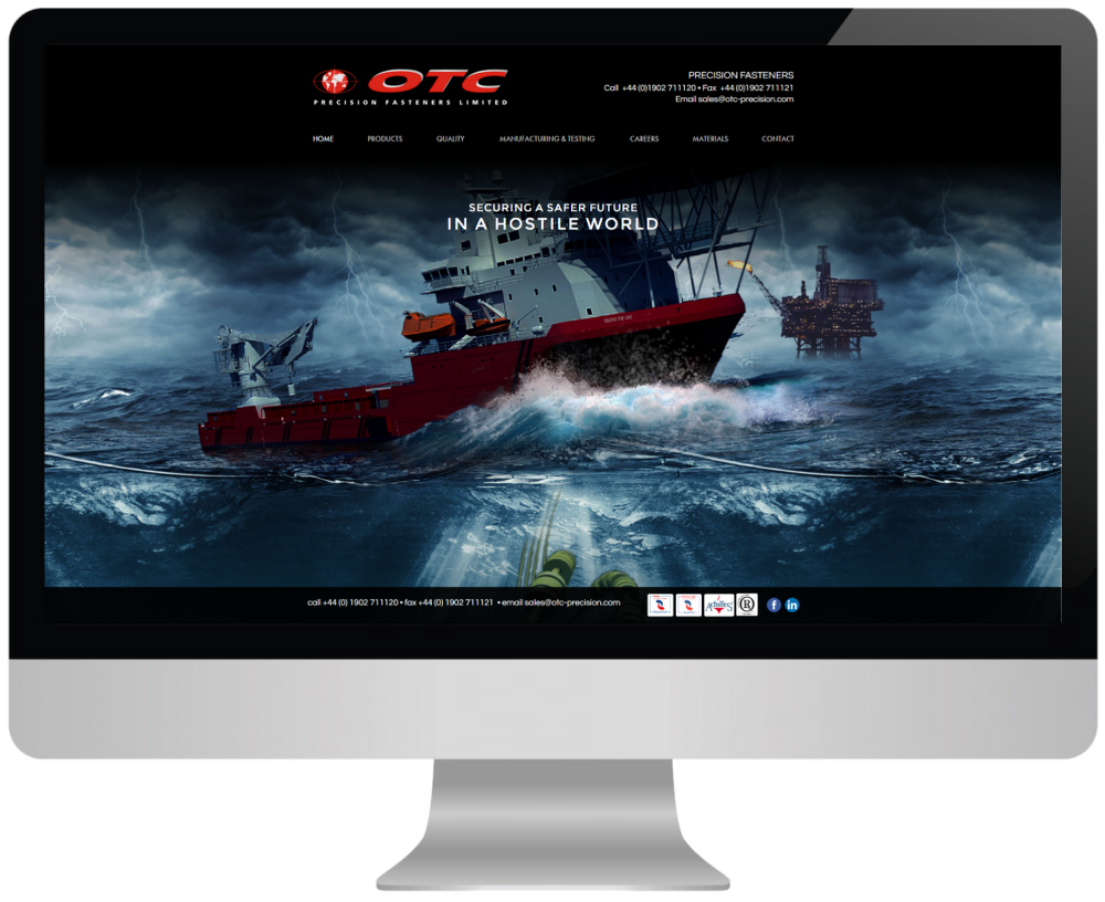 OTC Custom Web Design
