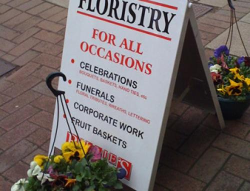Floristry A Board