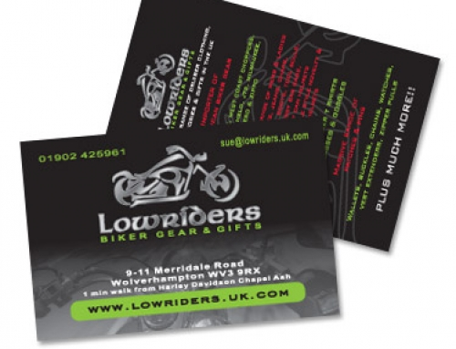 Business Cards – Low Riders