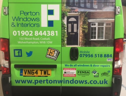 Vehicle Branding – Perton Windows