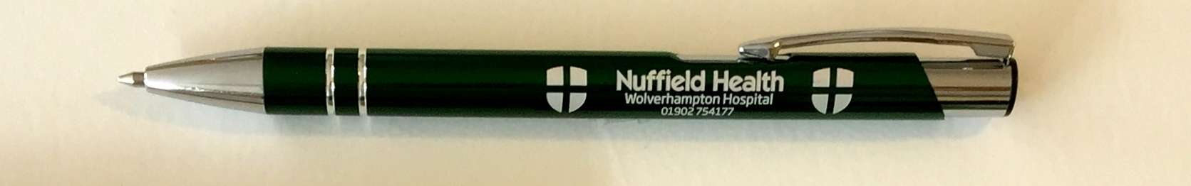 Customised Ballpoint Pen – Nuffield Health