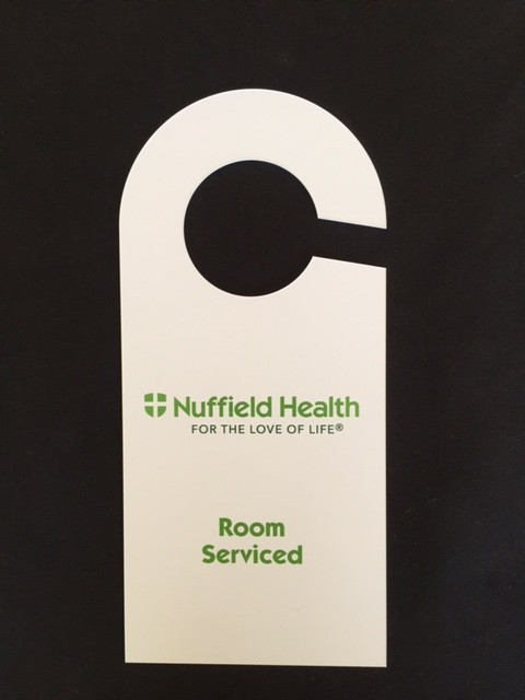 Nuffield Health – Door Handle Hangers