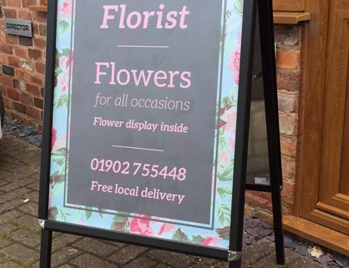 A Board – Louise's Florist