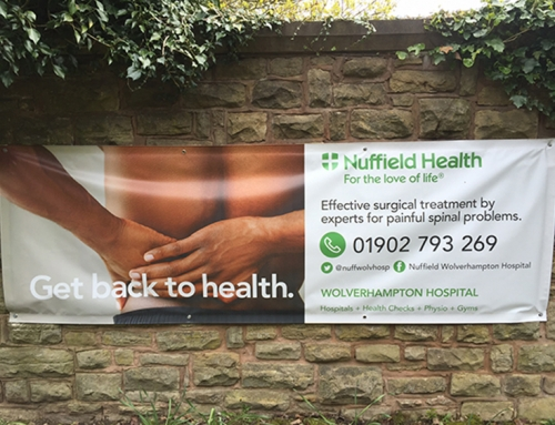 Outdoor Banner – Nuffield
