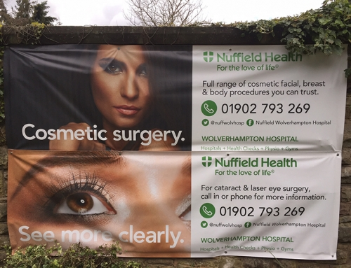 Outdoor Banners – Nuffield Health
