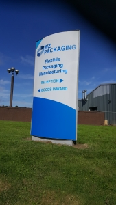 WZ Packaging Sign
