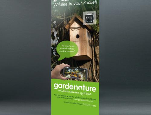 Gardenature Roller Banner