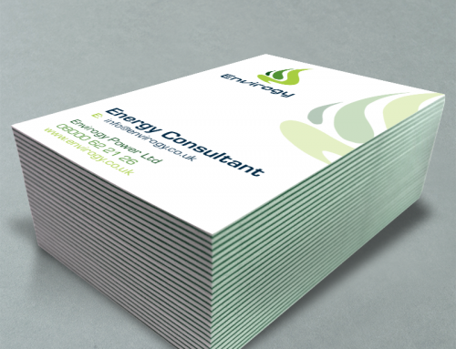Envirogy Triplex Business Cards